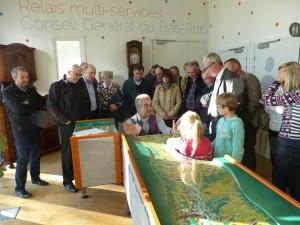 Exposition la nappe phreatique du Rhin superieur Truchtersheim 2016 Ariena