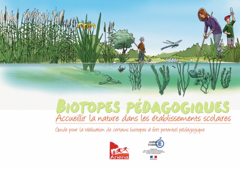 Biotopes pédagogiques – Accueillir la nature dans les établissements scolaires