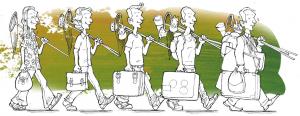 L'évolution du métier d'animateur nature : le savoir s'accumule ! ©C.Leroy/Ariena