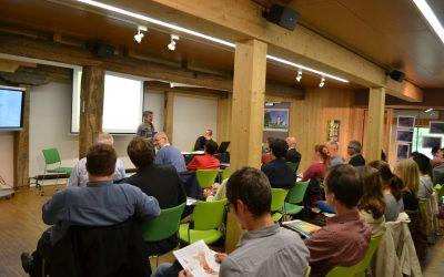 Un mois de novembre rythmé par des conférences dans la Grange aux Paysages