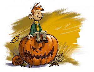 Automne Halloween © Cyril Leroy / Ariena
