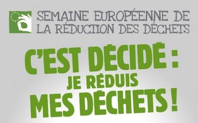 La Semaine Européenne de la Réduction des Déchets 2018