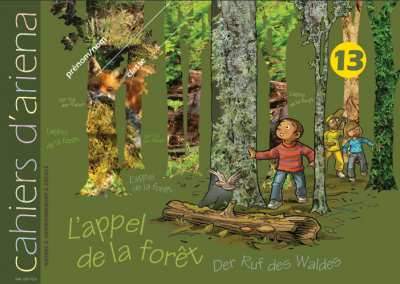 Cahier d'ariena n°13  L'appel de la forêt (disponible en version numérique interactive)