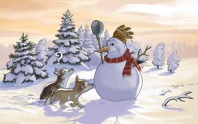 Vive les vacances d'hiver !