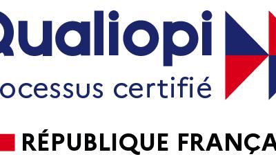 L'Ariena est certifiée «Qualiopi» depuis le 1er décembre 2020 !